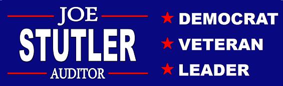 Joe Stutler For Auditor
